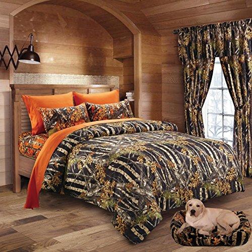 20 Lakes Woodland Hunter Camo Comforter Sheet
